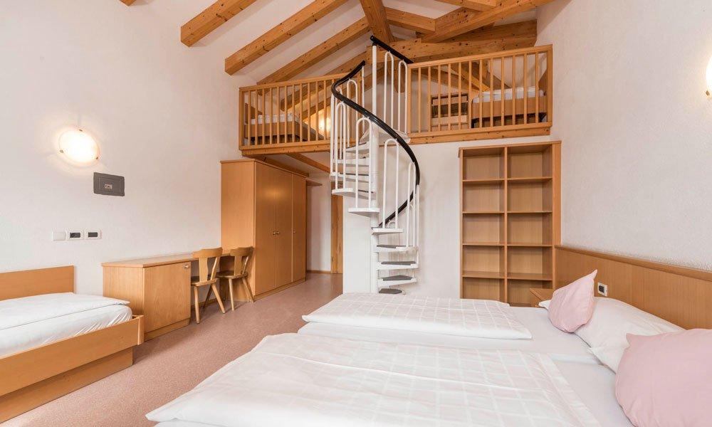 Dormitori e camerate nel vostro alloggio a Naz