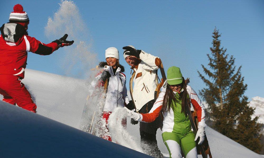 Rodeln, Skifahren und vieles mehr