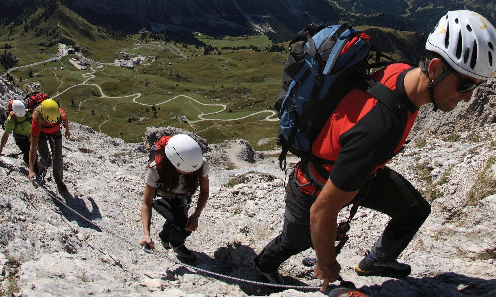 Climbing vacation in South Tyrol – Pure adrenaline