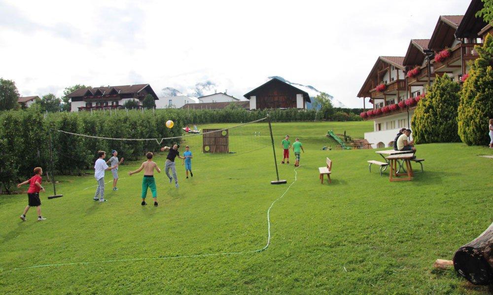 Sportlicher Spaß im Freien